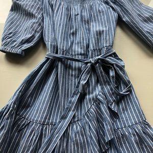 Tularosa Dresses - Tularosa Maida Ruffle Dress small